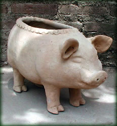 Mexican Clay Pottery Large Pig by Susano on pig watering can, pig planet, pig farmer, pig pillow, pig white, pig soldier, pig trailer, pig vintage, pig gates, pig teapot, pig pink, pig leather, pig clock, pig plate, pig green, pig tree, pig bed, pig pitcher, pig pot, pig pipe,